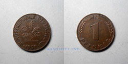 Alemania 1 Penique 1950